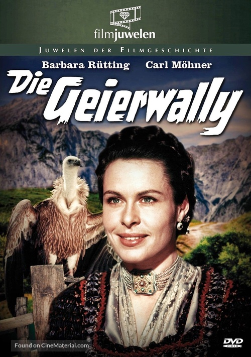Die Geierwally - German DVD cover