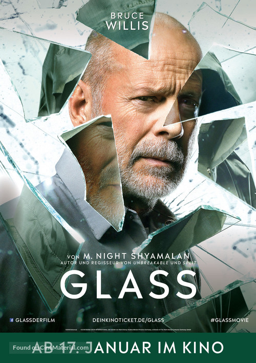 Glass - German Movie Poster