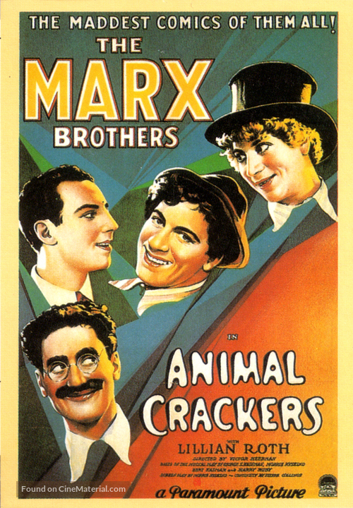 Animal Crackers - Movie Poster