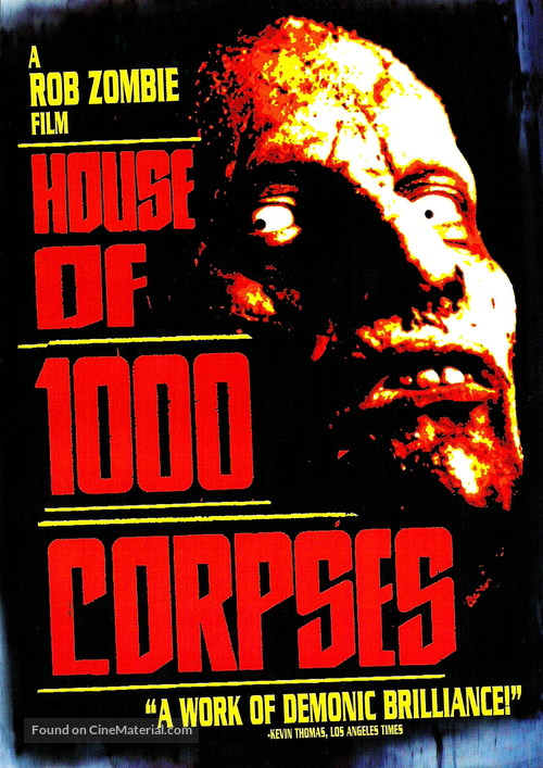 House of 1000 Corpses - DVD movie cover