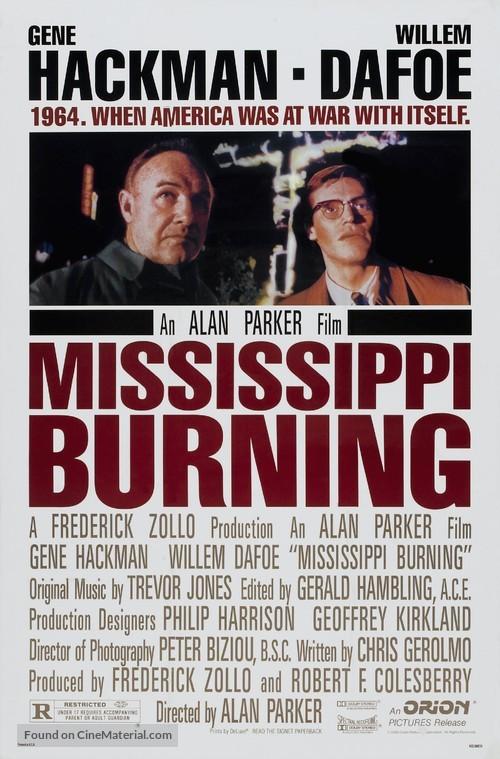 Mississippi Burning - Movie Poster