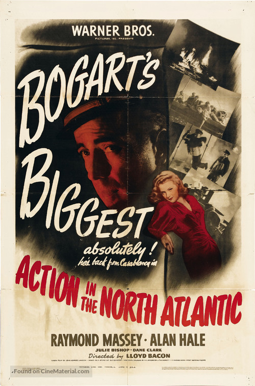 Action in the North Atlantic - Movie Poster