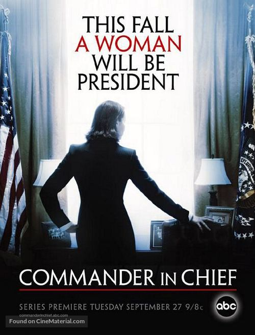 """Commander in Chief"" - Movie Poster"