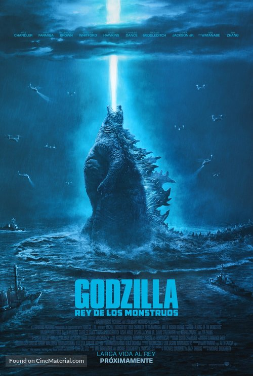 Godzilla: King of the Monsters - Spanish Movie Poster