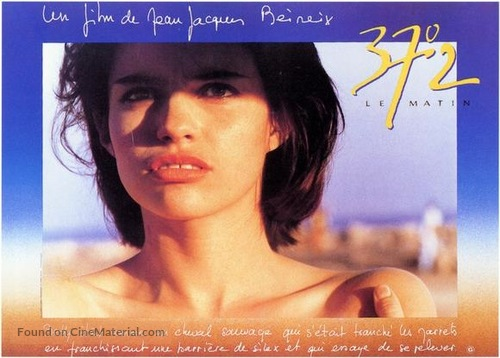 37°2 le matin - French Movie Poster