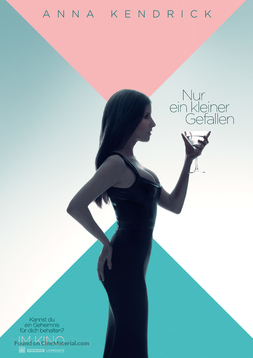 A Simple Favor - German Movie Poster