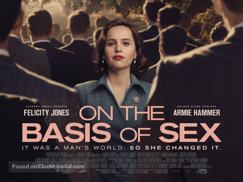 On the Basis of Sex - British Movie Poster