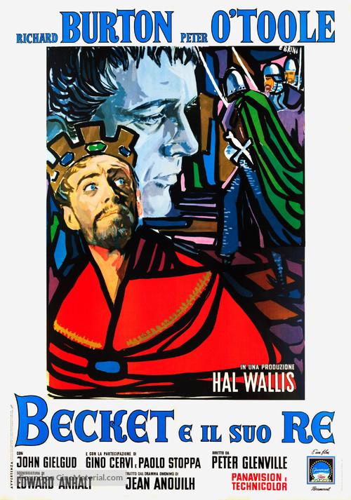 Becket - Italian Movie Poster
