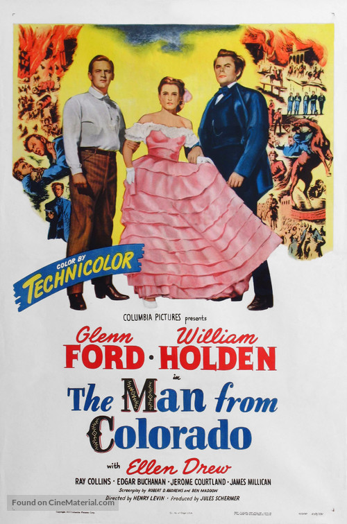The Man from Colorado - Movie Poster