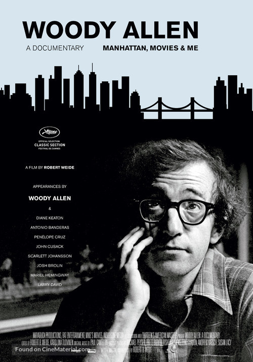Woody Allen: A Documentary - Swedish Movie Poster