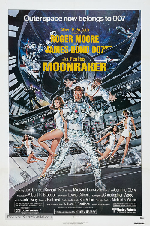 Moonraker - Theatrical movie poster