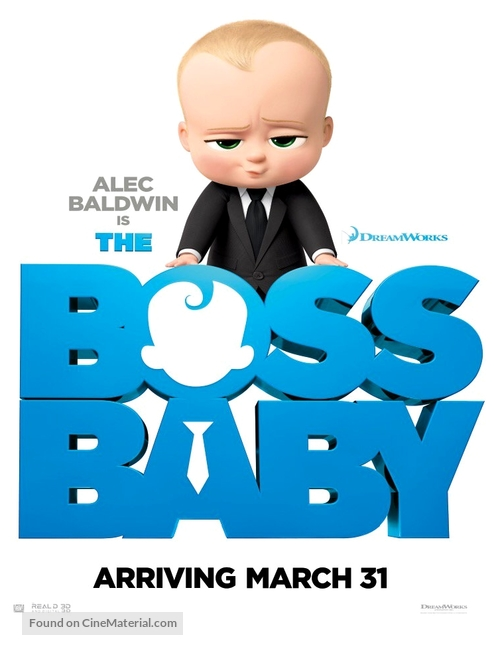 The Boss Baby 2017 Movie Poster