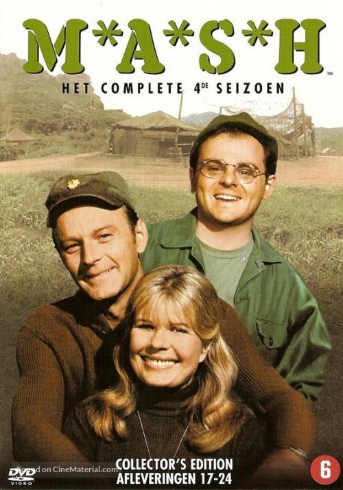 """""""M*A*S*H"""" - Dutch DVD cover"""