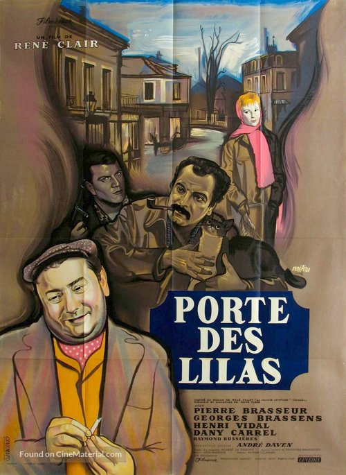 Porte des Lilas - French Movie Poster
