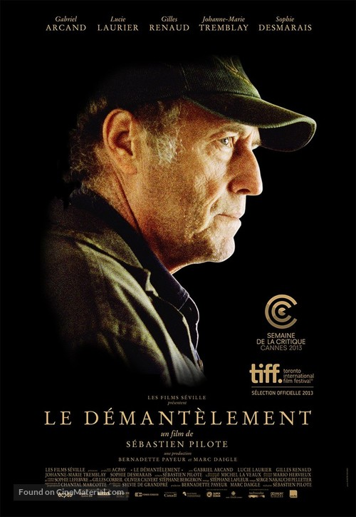 Le Démantèlement - Canadian Movie Poster