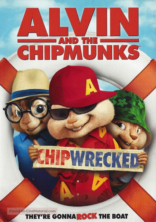 alvin and the chipmunks chipwrecked dvd cover
