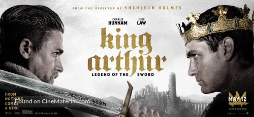 King Arthur: Legend of the Sword - Movie Poster