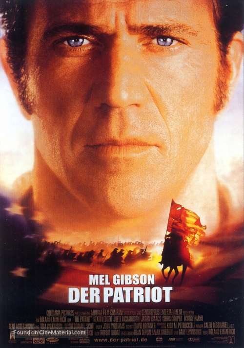 The Patriot - German Movie Poster