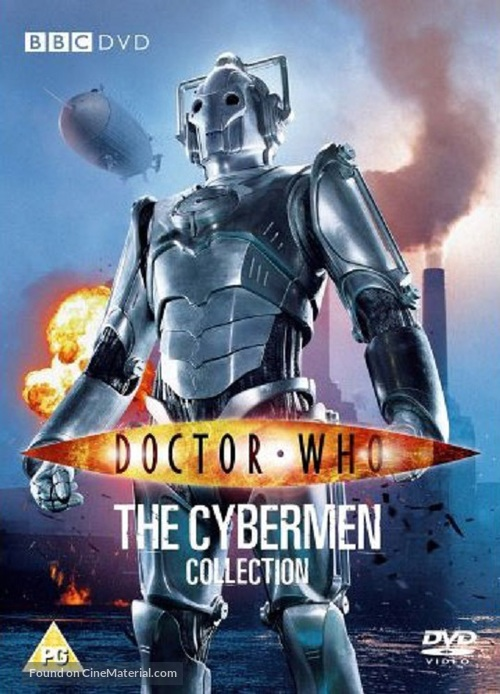 """Doctor Who"" - British DVD movie cover"