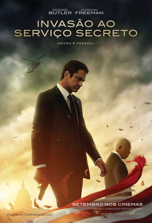 Angel Has Fallen - Brazilian Movie Poster
