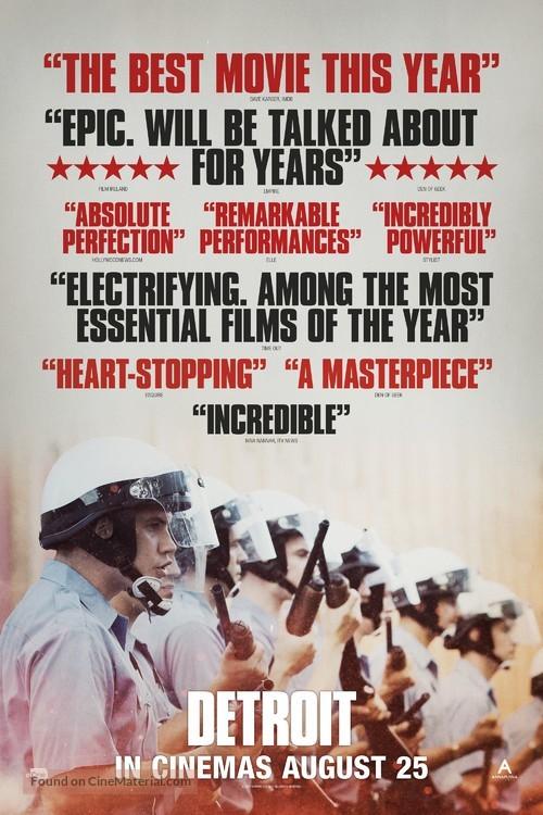 Detroit - British Movie Poster