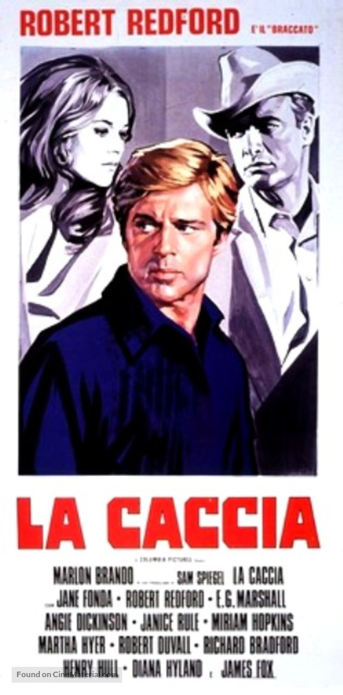 The Chase - Italian Movie Poster