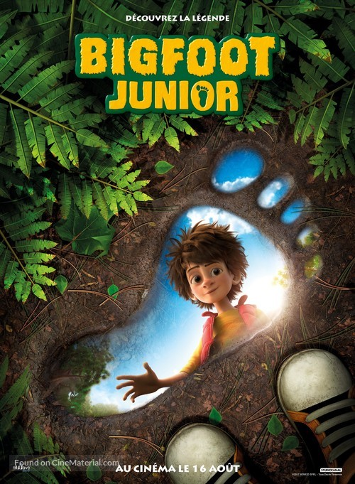 The Son of Bigfoot - French Movie Poster