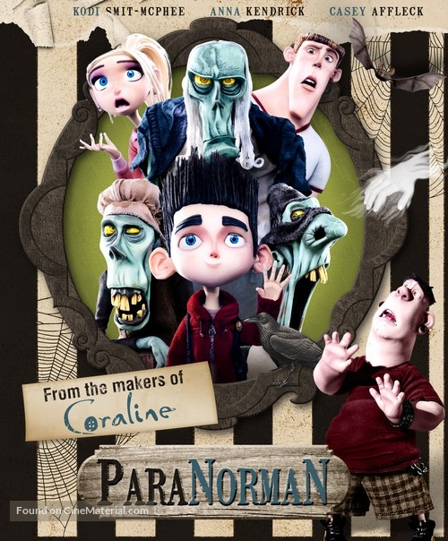 ParaNorman - Blu-Ray cover