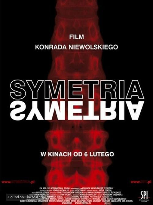 Symetria - Polish poster