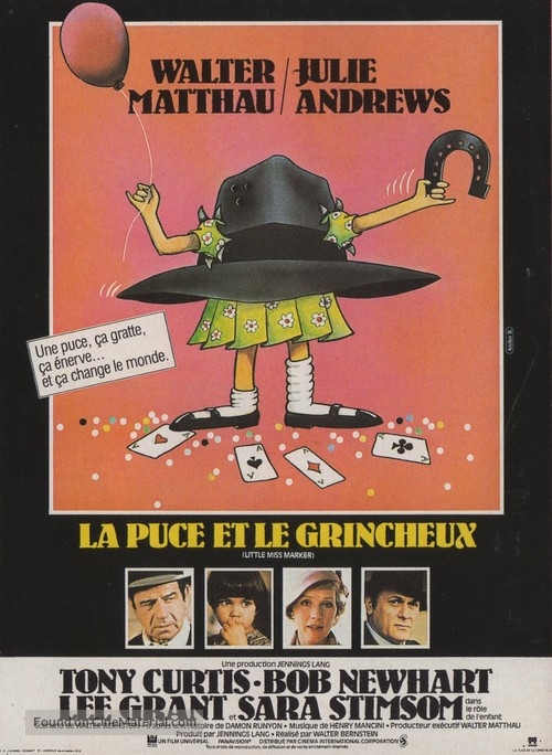 Little Miss Marker - French Movie Poster