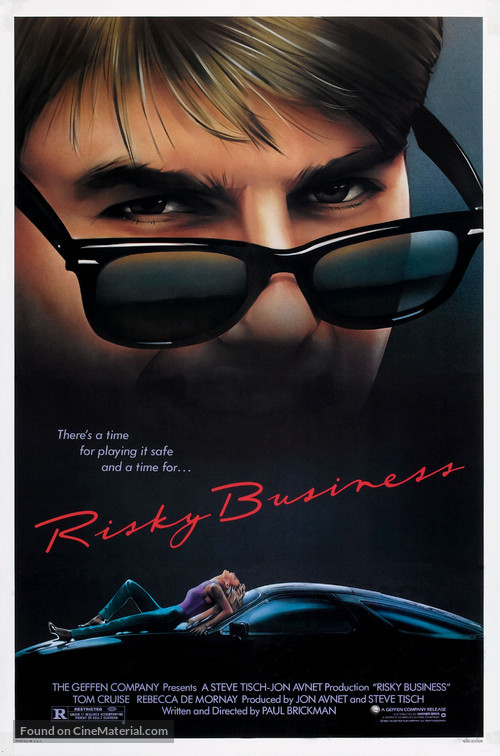 Risky Business - Movie Poster