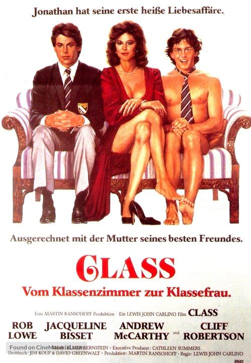 Class - German Movie Poster