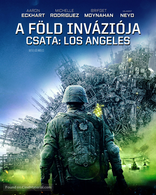 Battle: Los Angeles - Hungarian Blu-Ray cover