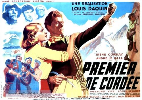 Premier de cordèe - French Movie Poster