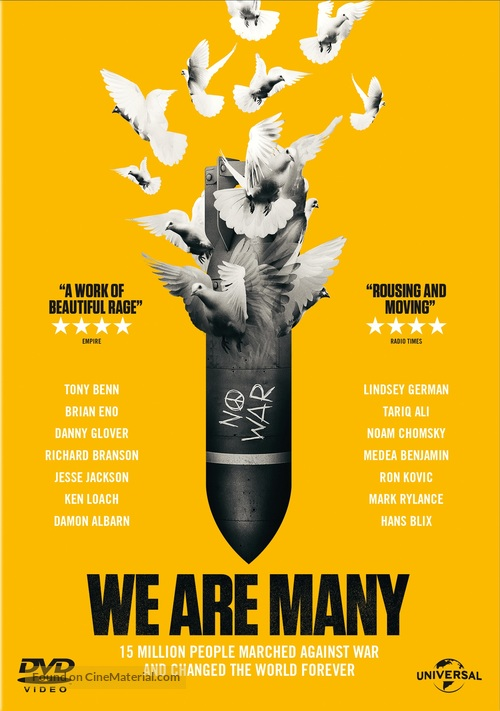 We Are Many - DVD movie cover