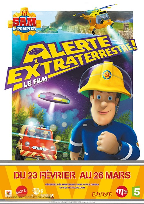 Fireman Sam Ultimate Heroes The Movie 2014 French Movie