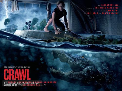 Crawl - British Movie Poster
