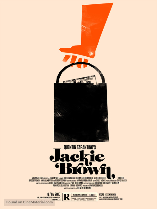 Jackie Brown - Homage movie poster