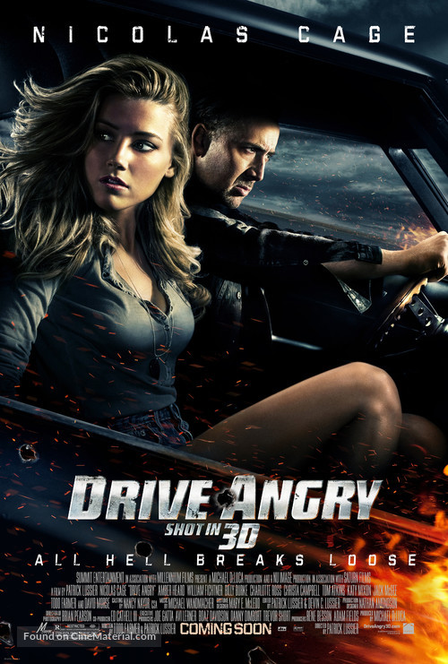 Drive Angry - Movie Poster