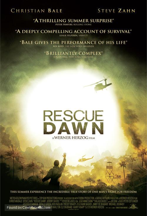 Rescue Dawn - Movie Poster