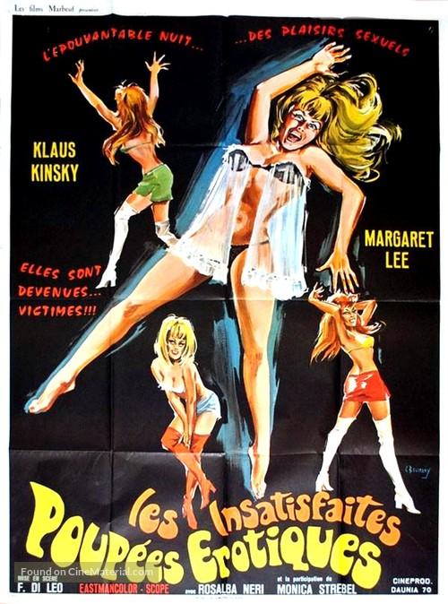 La bestia uccide a sangue freddo - French Movie Poster