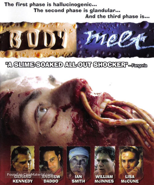 Body Melt - Blu-Ray cover