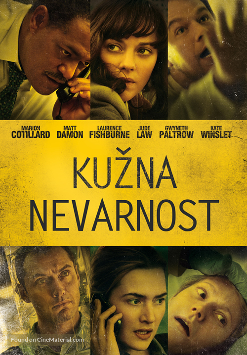 Contagion - Slovenian Movie Poster