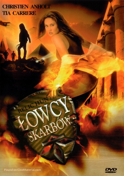 Relic Hunter Polish Dvd Cover