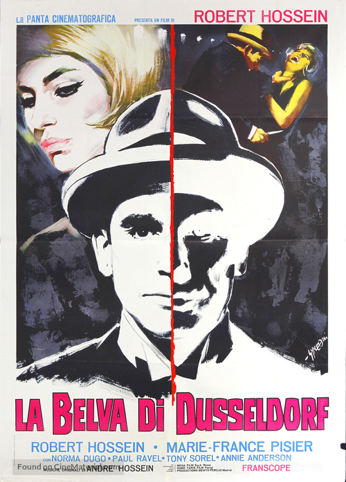 Le vampire de Düsseldorf - Italian Movie Poster