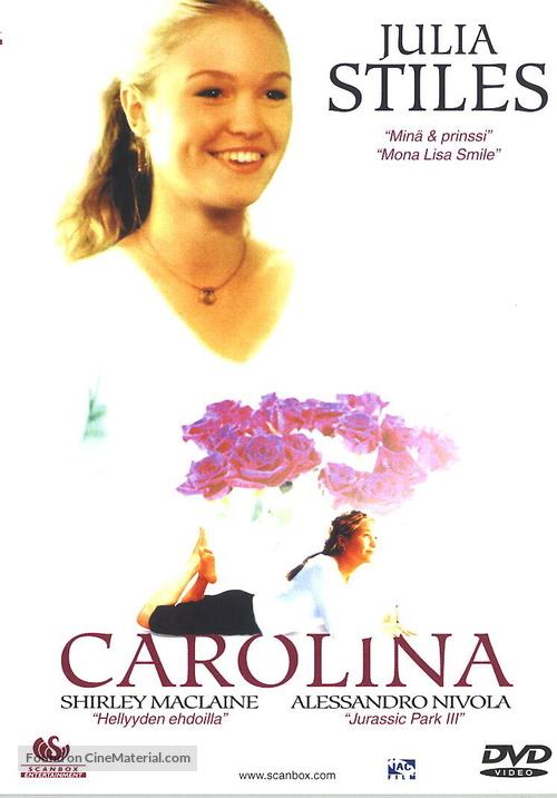 Carolina - Finnish DVD movie cover