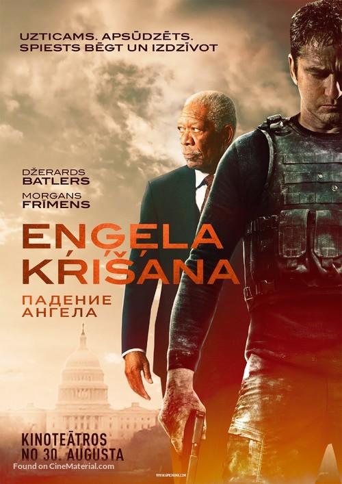 Angel Has Fallen - Latvian Movie Poster