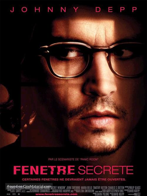 Secret Window - French Movie Poster