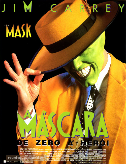 The Mask - Portuguese Movie Poster