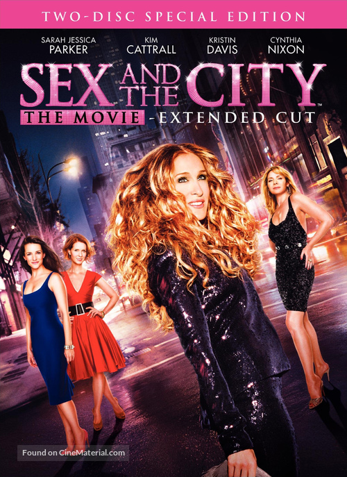 Sex and the City - DVD movie cover
